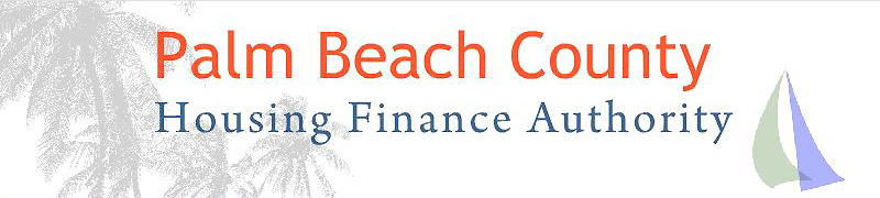 Palm Beach County Housing Finance Authority banner